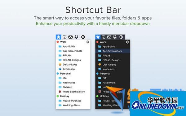 Shortcut Bar for Mac  v1.9 官方版