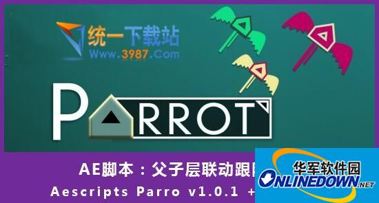 Aescripts Parro(父子层联动跟随脚本)  v1.0.2 免费版
