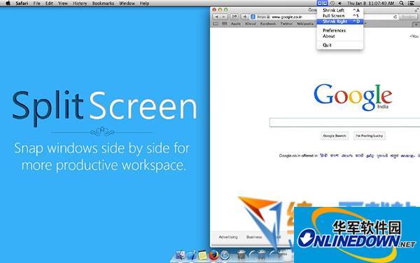Splitscreen mac版(窗口快速调整软件)  v3.12 最新版