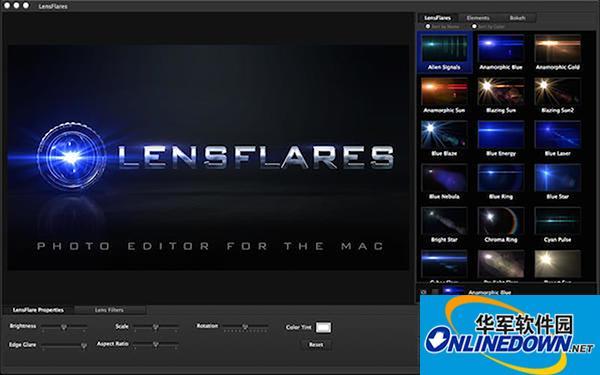 LensFlare Studio Mac版