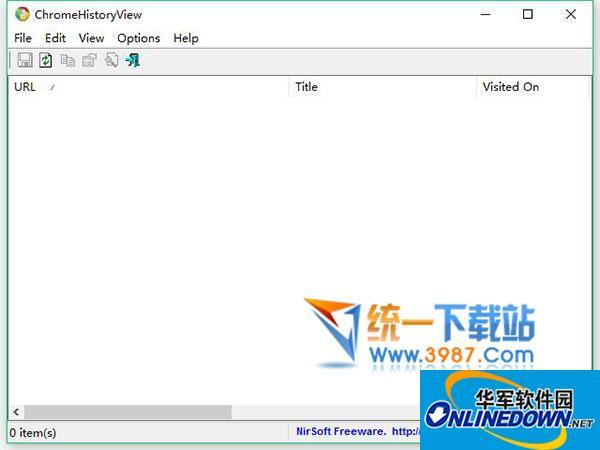 ChromeHistoryView(谷歌浏览器历史记录恢复)  v1.32 官方