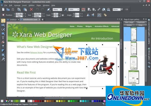 Xara Web Design...
