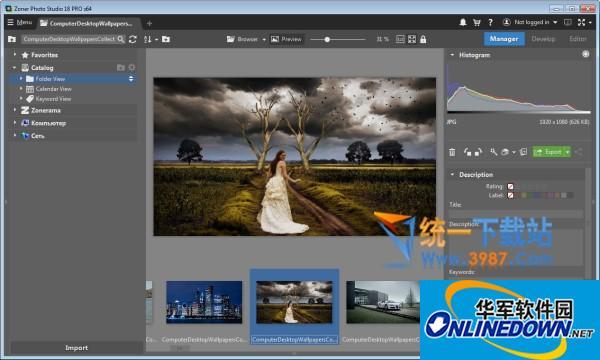 数字图像处理(Zoner Photo Studio)