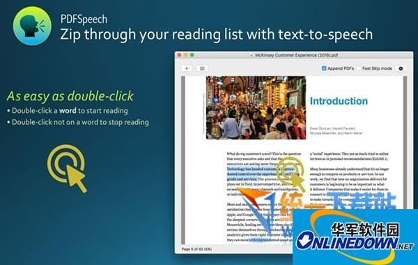 PDFSpeech for Mac