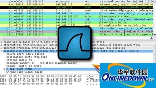 Wireshark Mac版...