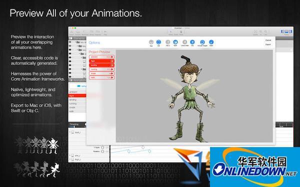 Core Animator for mac(动画制作)