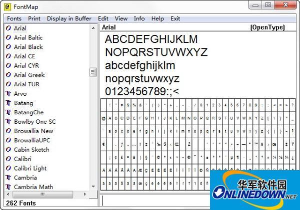 FontMap(字体设计工具)