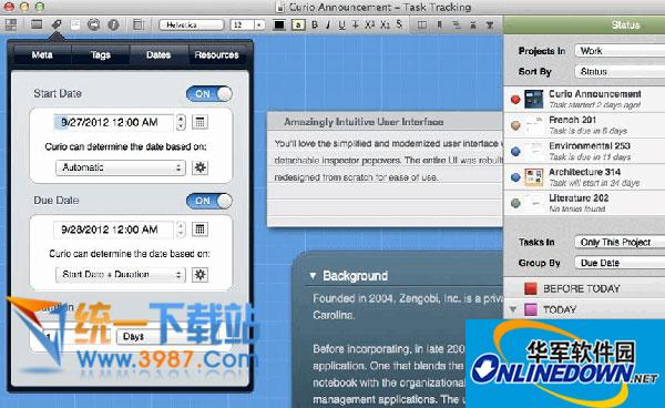 Curio for Mac(思维导图软件)