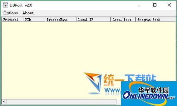 DBPort端口监视工具  v2.0 绿色版