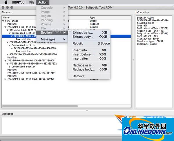 Uefitool Mac版  v0.21.5 官方版