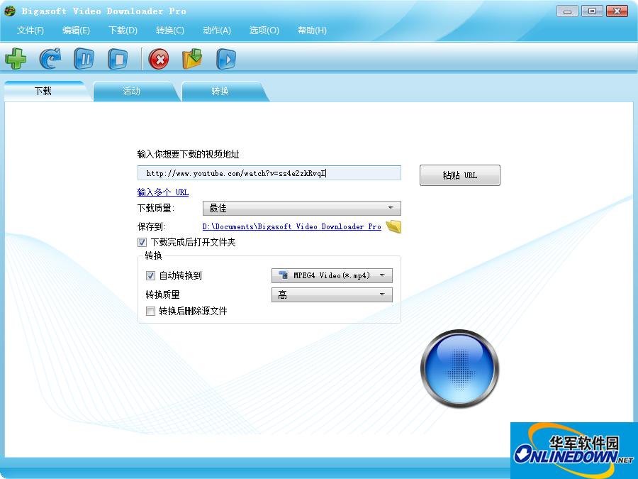 视频下载器(Bigasoft Video Downloader Pro)