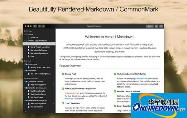 Versatil Markdown Mac版