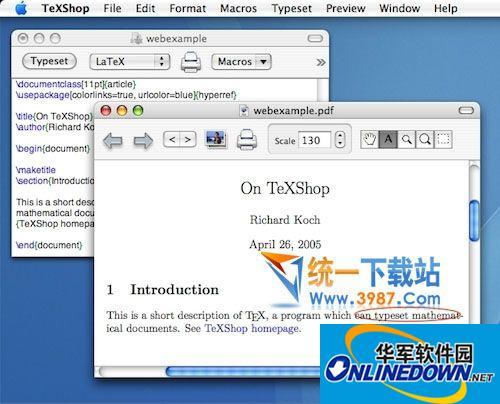 Texshop For Mac  3.95 官方最新版
