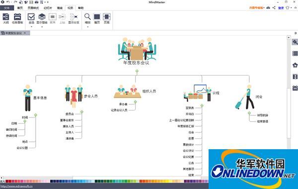 亿图思维导图软件MindMaster Mac版