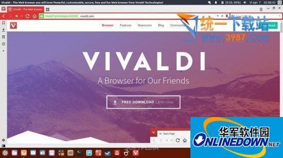 Vivaldi浏览器 for linux v1.14 官方最新版