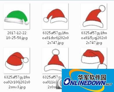 圣诞帽图片素材2017最新版