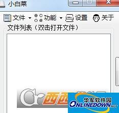 U盘小白菜软件