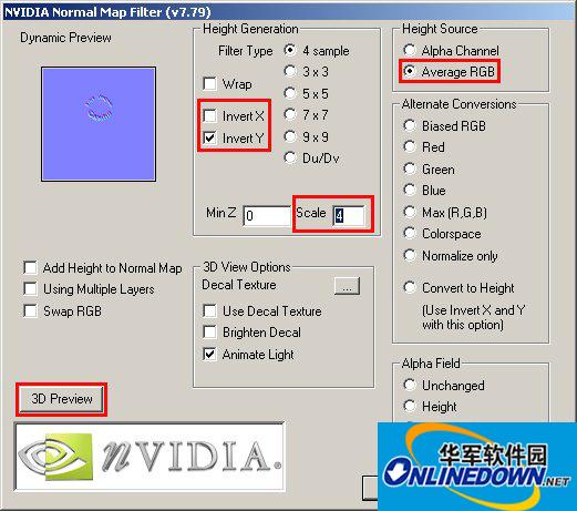PS转NVIDIA Normal Map(DDS)插件