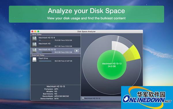 Disk Space Analyzer Mac版