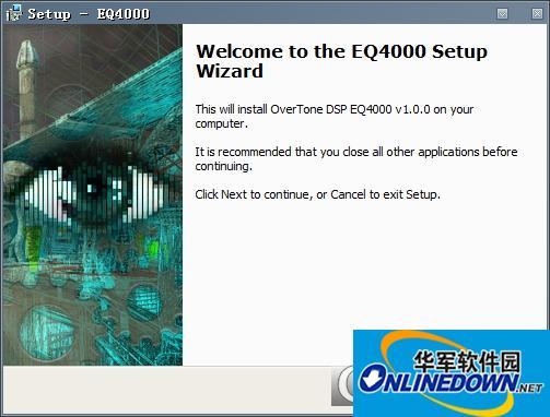 OverTone DSP EQ4000