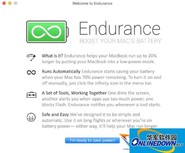 Endurance for Mac