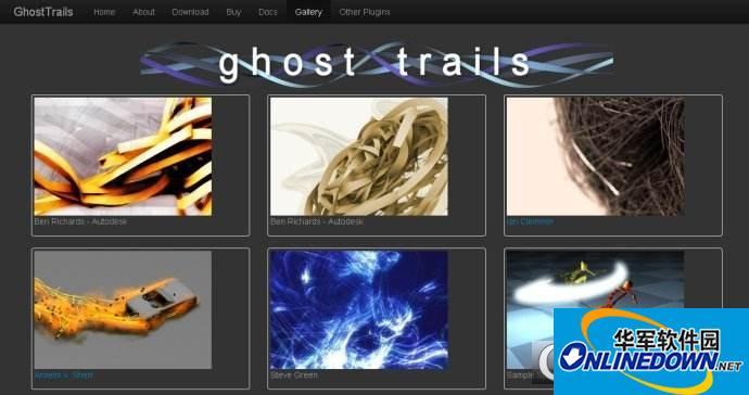 Ghosttrails