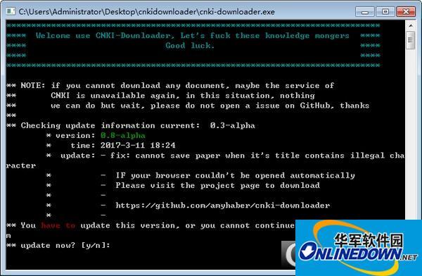 cnki-downloader知网文献下载器