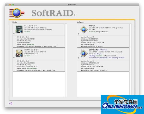 SoftRAID Mac版