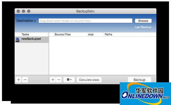 BackupList Mac版