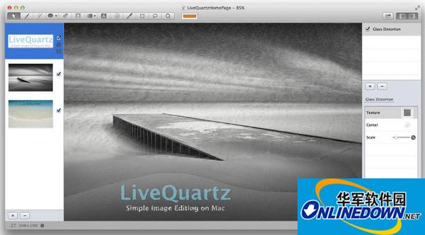 LiveQuartz Photo Edit for mac