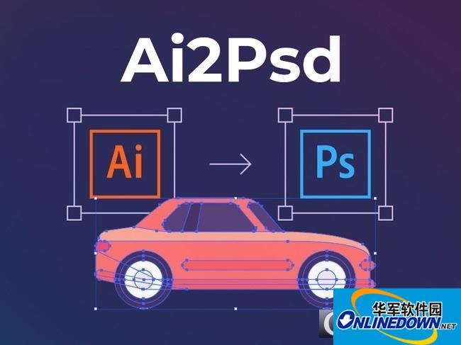 Ai转PSD插件AI2psd master