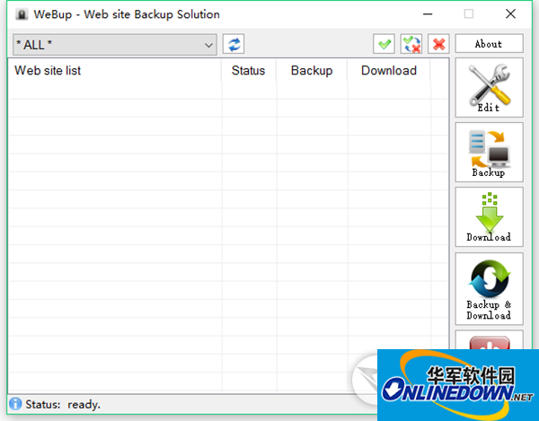 WebUp网站备份工具