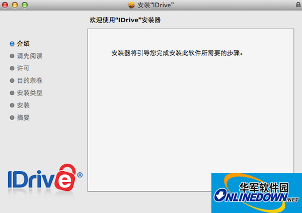 iDrive for mac