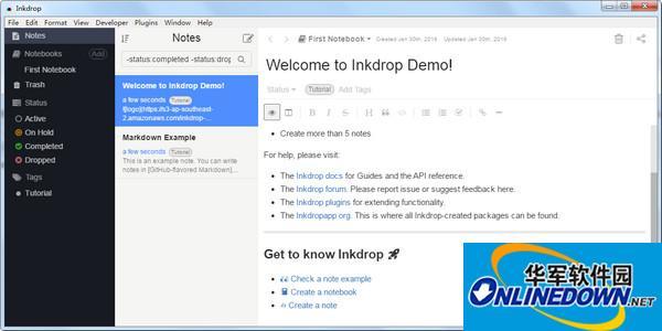 Inkdrop(markdown编辑器)