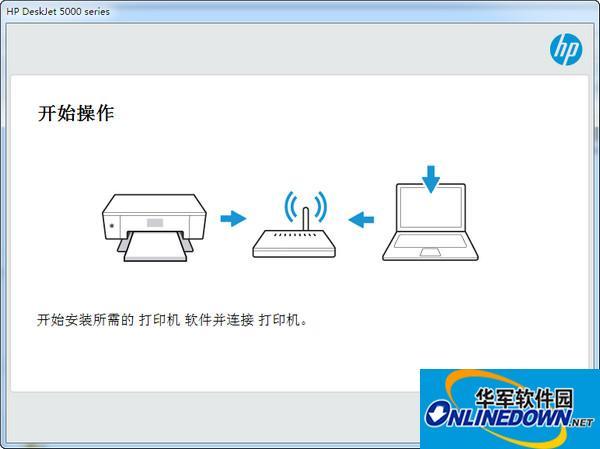 惠普dj5000打印机驱动