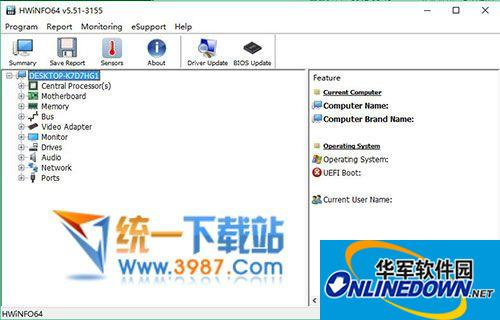 HWiNFO64(电脑硬件内存检测软件)
