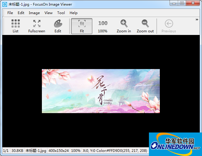 FocusOn Image Viewer