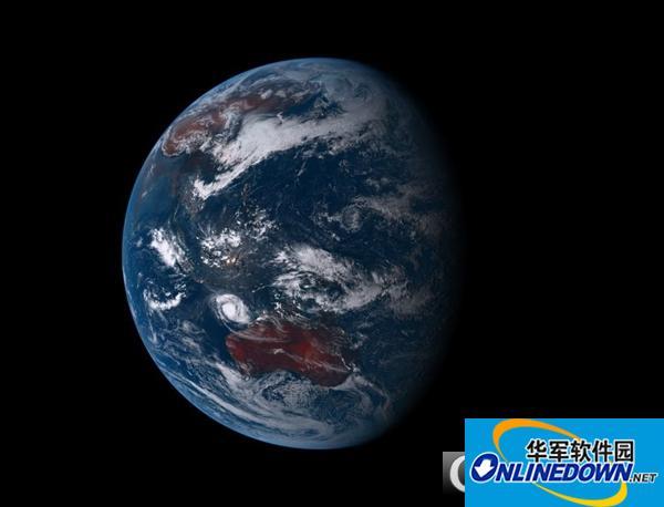 (我的地球)地球实景壁纸