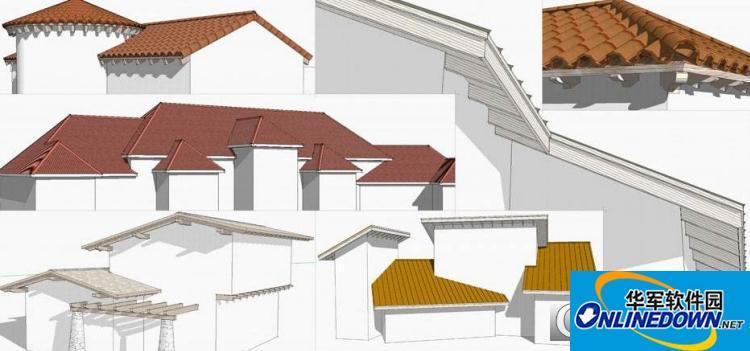 屋顶设计插件Atiles For 3DsMax