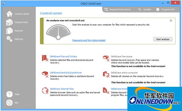 O&O SafeErase Pro(数据彻底删除工具)