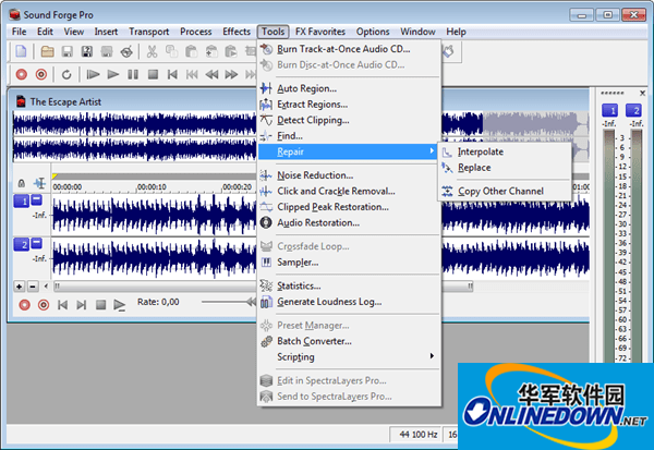 Magix Sound Forge Pro(音频编辑工具)
