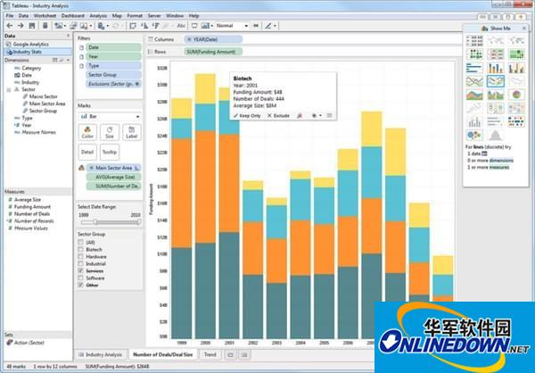 Tableau Desktop Pro(专业数据分析软件)