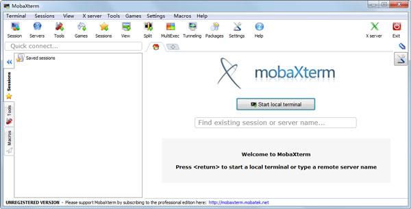 MobaXterm(远程终端软件)