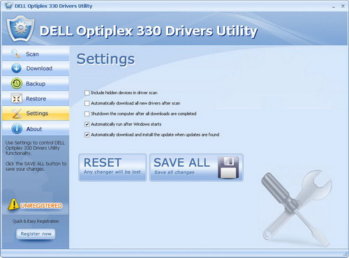 DELL Optiplex 330 Drivers Utility