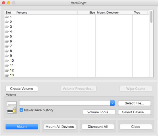 分区加密软件 VeraCrypt for Mac