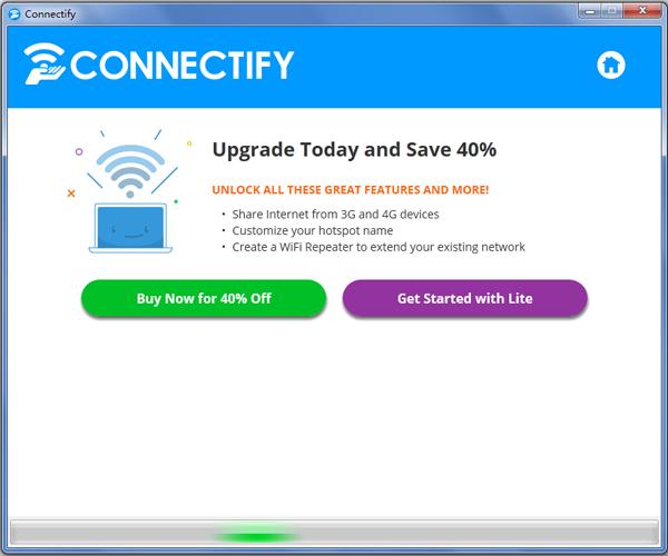 Connectify(無線共享軟件)