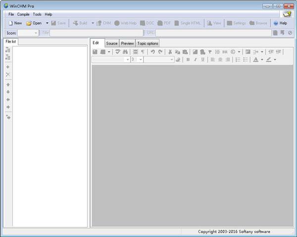 WinCHM Pro(HTML帮助制作)