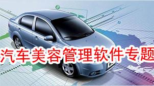 汽车美容管理软件专题