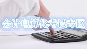 会计电算化考试专区