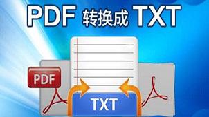 pdf转换成txt